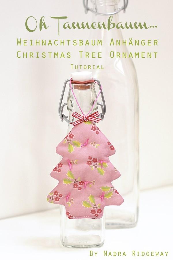 Tutorial: einen Weihnachtsbaum nähen