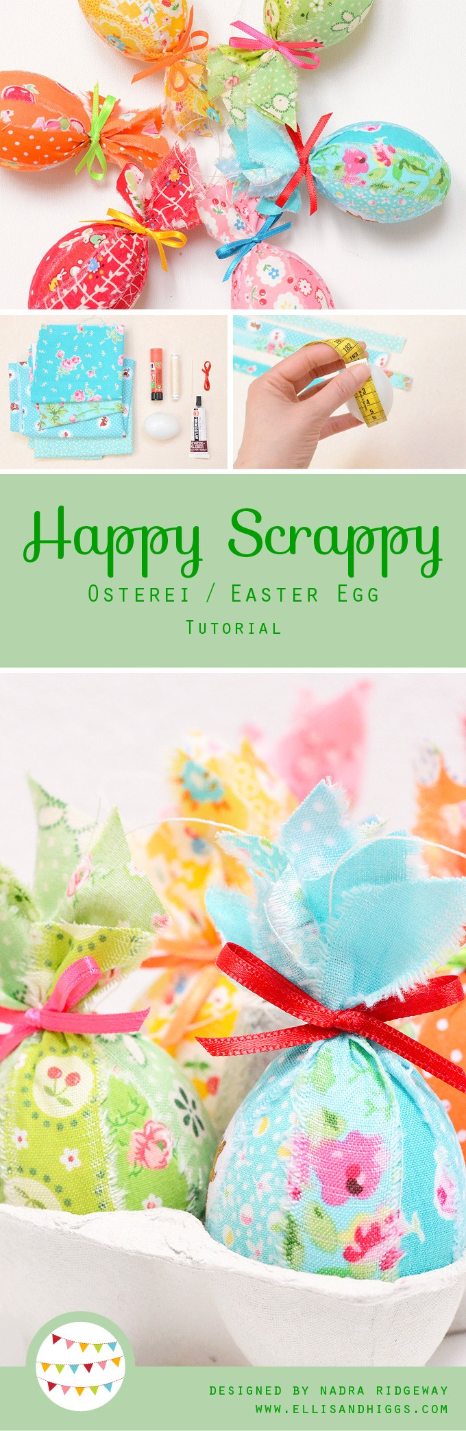 Happy Scrappy Easter Egg Tutorial