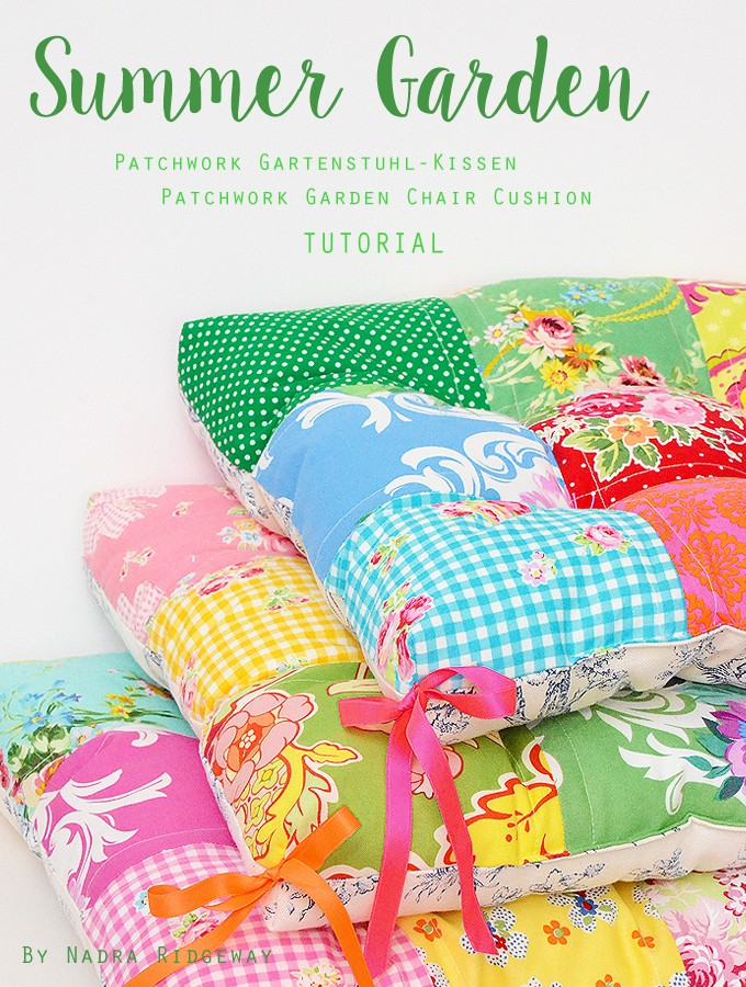 Sommer Blog Party – Gartenkissen Tutorial