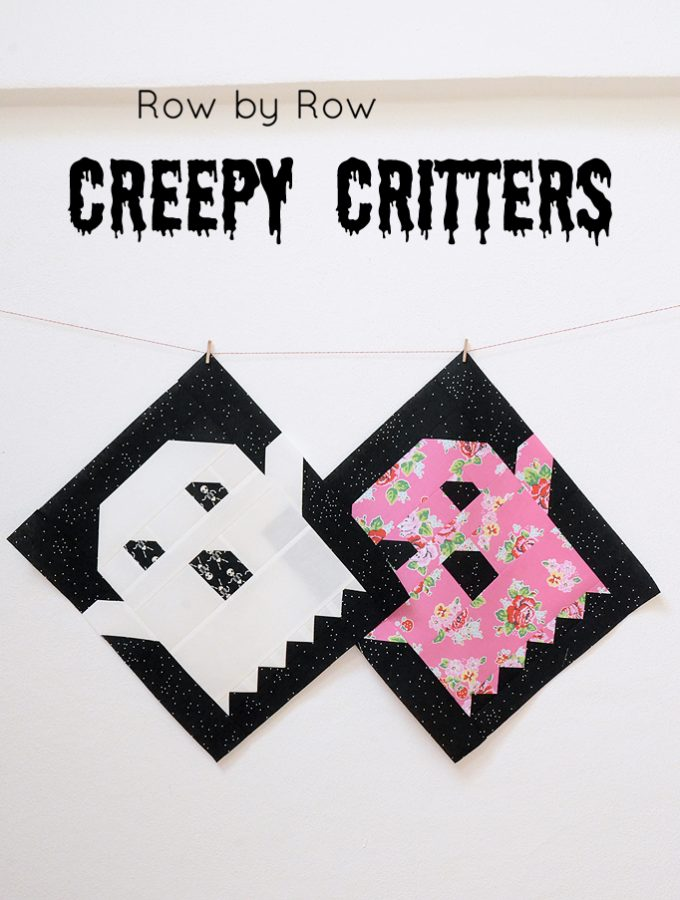 Creepy Critters Block No. 5