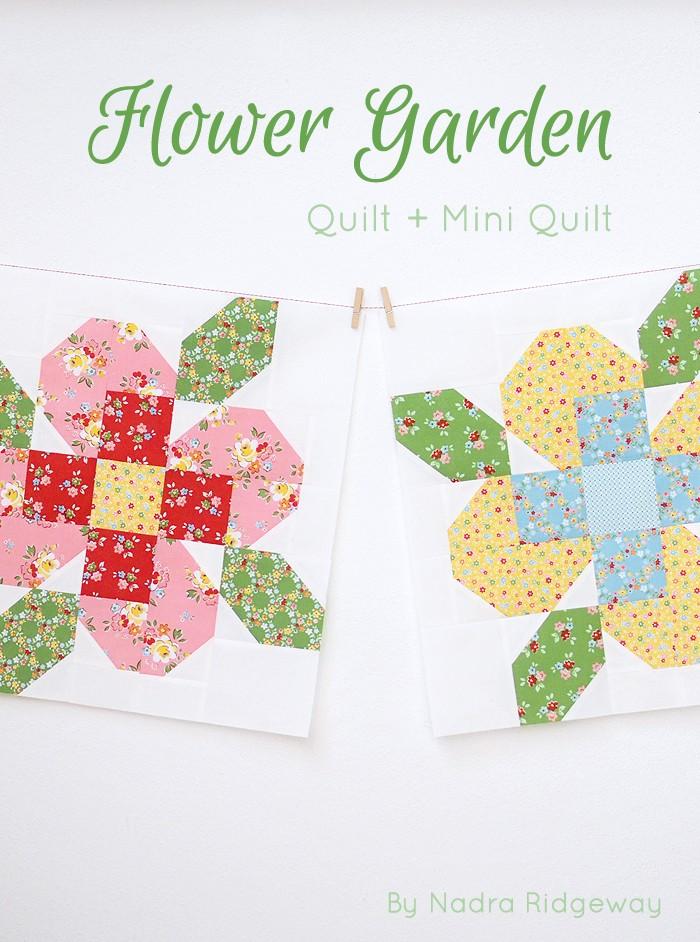 Neue Schnittmuster / New Patterns: Flower Garden - ellis & higgs
