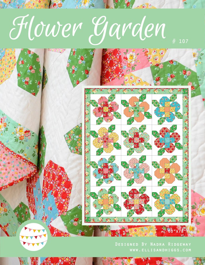 Flower Garden Pattern by ellis & higgs
