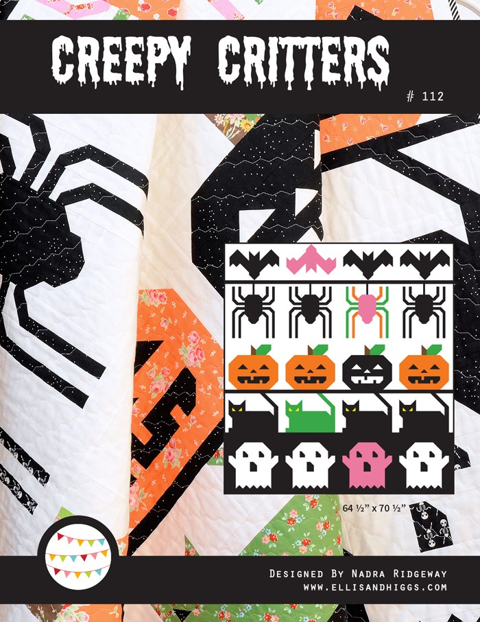 Creepy Critters Halloween Quilt Pattern