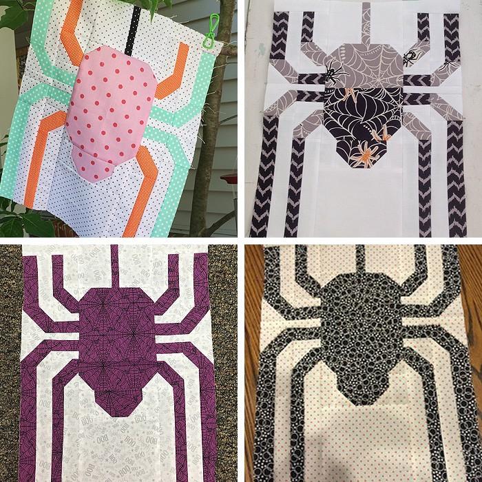 Creepy Critters Halloween Quilt Pattern