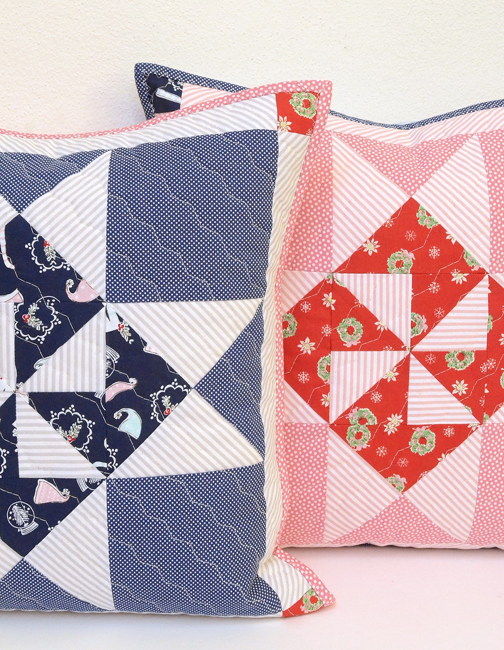 Bernina Tutorial: Patchwork-Stern Kissen