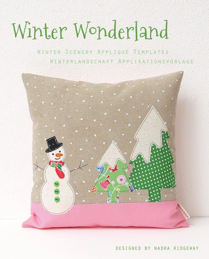 Christmas Applique Templates / Weihnchts Applikationsvoprlagen by Nadra Ridgeway of ellis & higgs