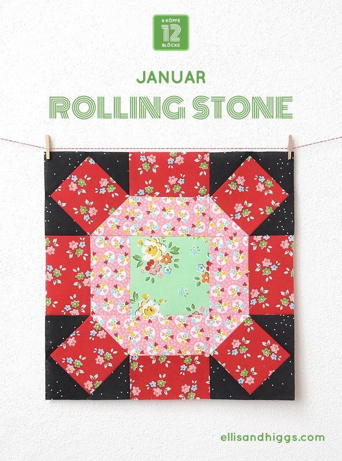 6Koepfe 12Bloecke Januar Block Rolling Stone - Nadra Ridgeway von ellisandhiggs