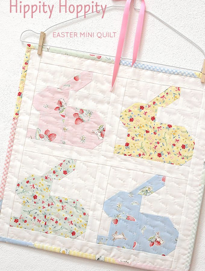 New Pattern: Hippity Hoppity Easter Mini Quilt