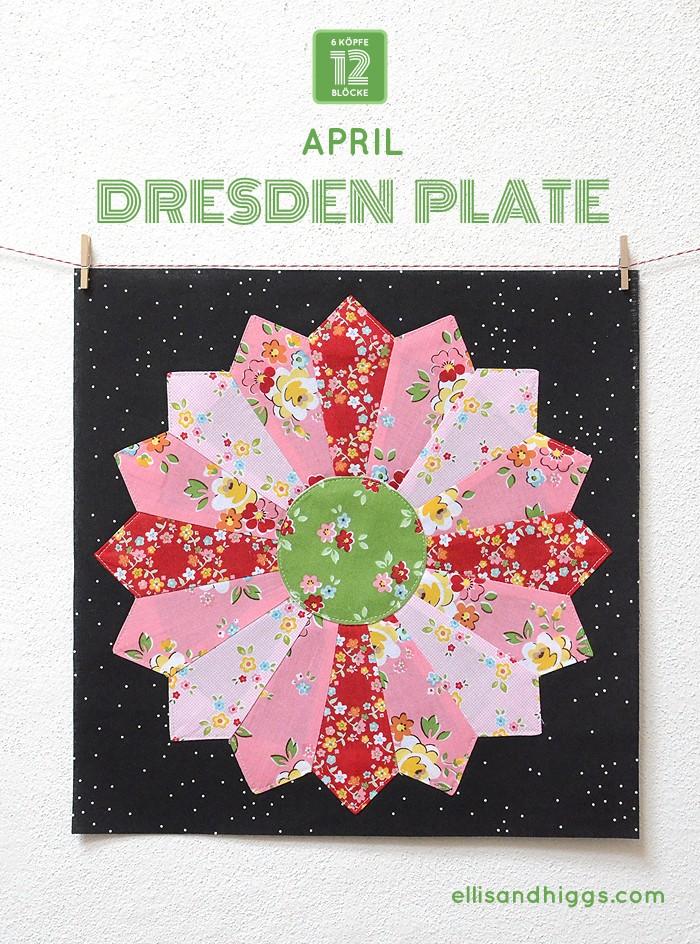 6 Koepfe 12 Bloecke März Block Broken Dishes - Nadra Ridgeway von ellisandhiggs