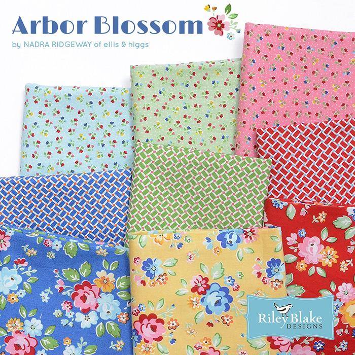 Arbor Blossom by Nadra Ridgeway for Riley Blake Designs 4