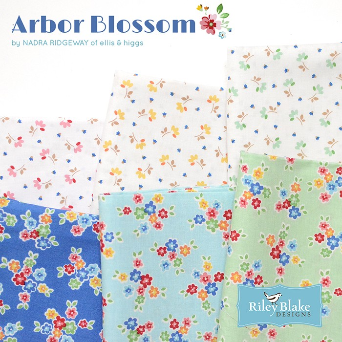 Arbor Blossom by Nadra Ridgeway for Riley Blake Designs 5