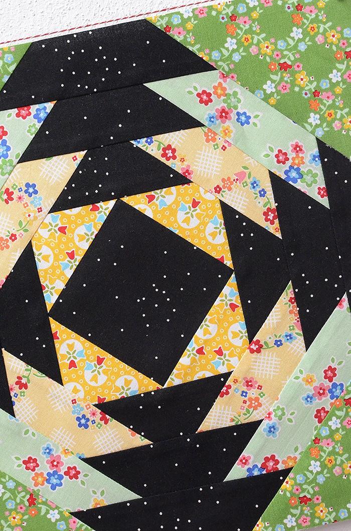 6 Köpfe 12 Blöcke Juni Block Pineapple - Nadra Ridgeway von ellisandhiggs
