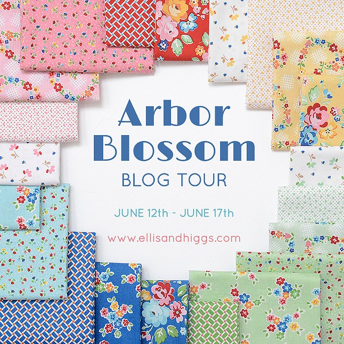 Arbor Blossom by Nadra Ridgeway for Riley Blake Designs -Blog Tour