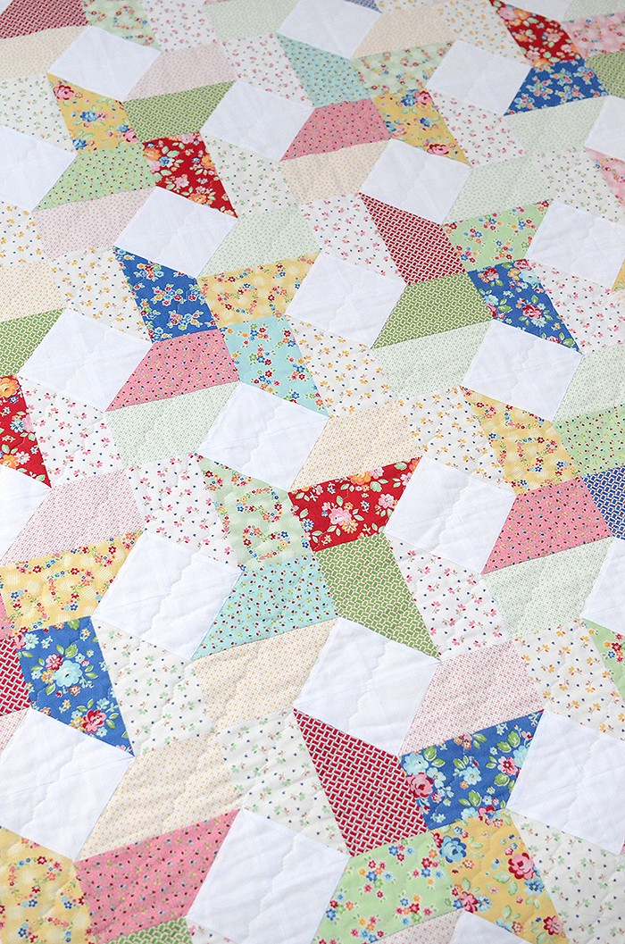 New Quilt Patterns: Sweet Trellis Pattern by Nadra Ridgeway of ellis & higgs