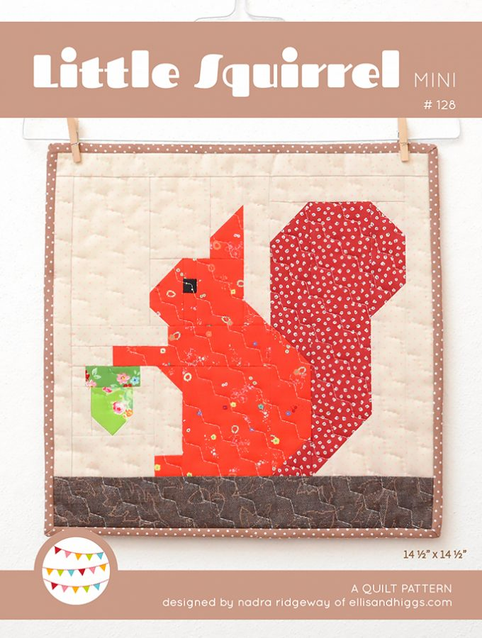 Little Squirrel – New Fall Mini Quilt Pattern