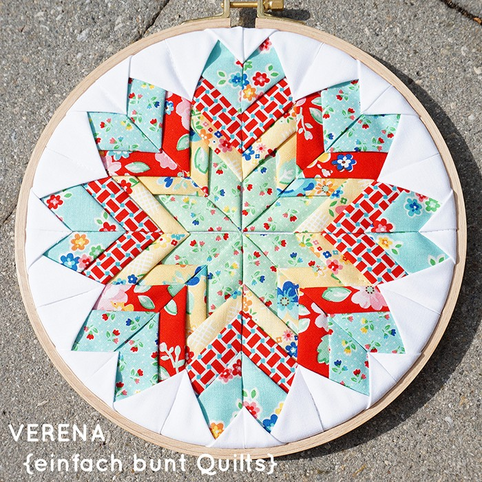 Arbor Blossom einfach bunt Quilts