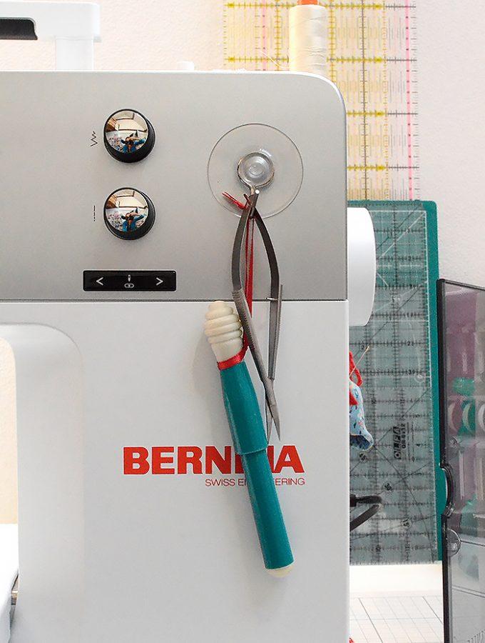 Meine neue Nähmaschine: die Bernina 770 QE