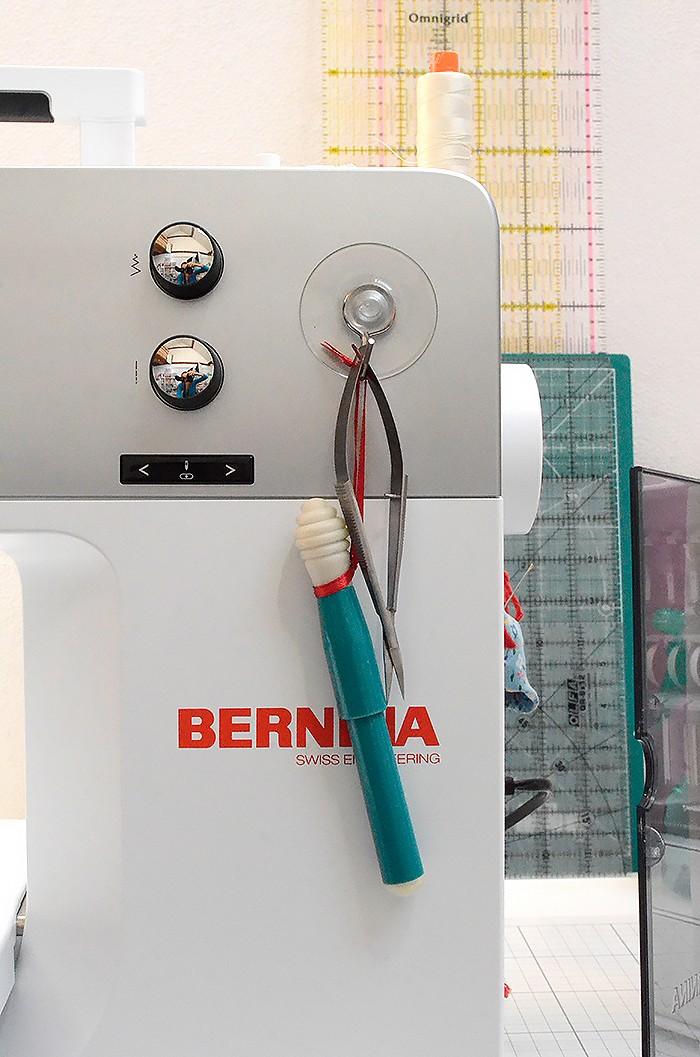 Meine neue Nähmaschine - die Bernina 770 QE von Nadra Ridgeway von ellis & higgs