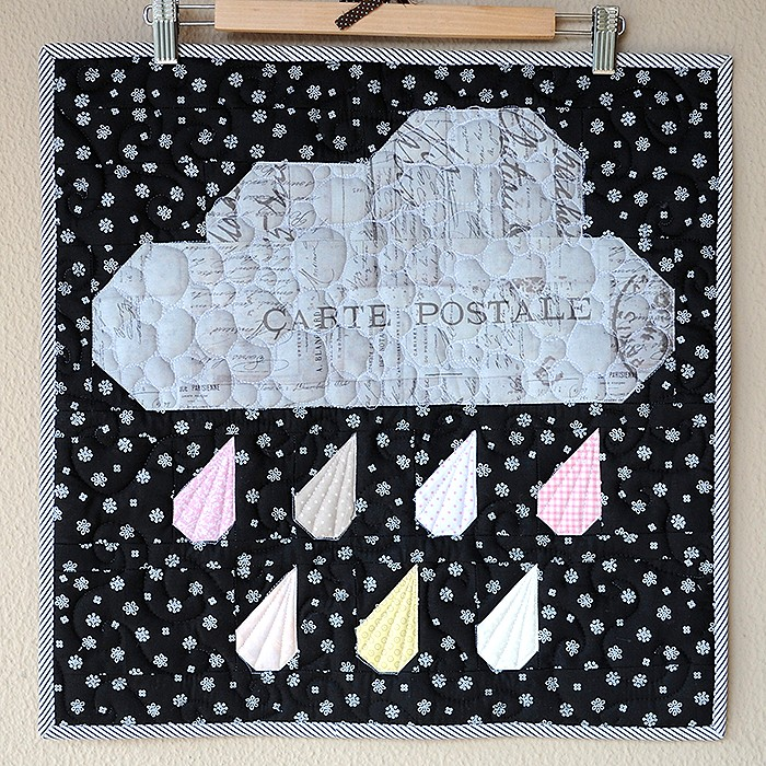 Rainy Days Mini Quilt - Barbara