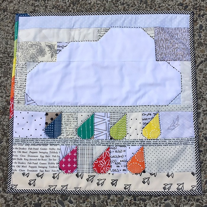 Rainy Days Mini Quilt - Deidra