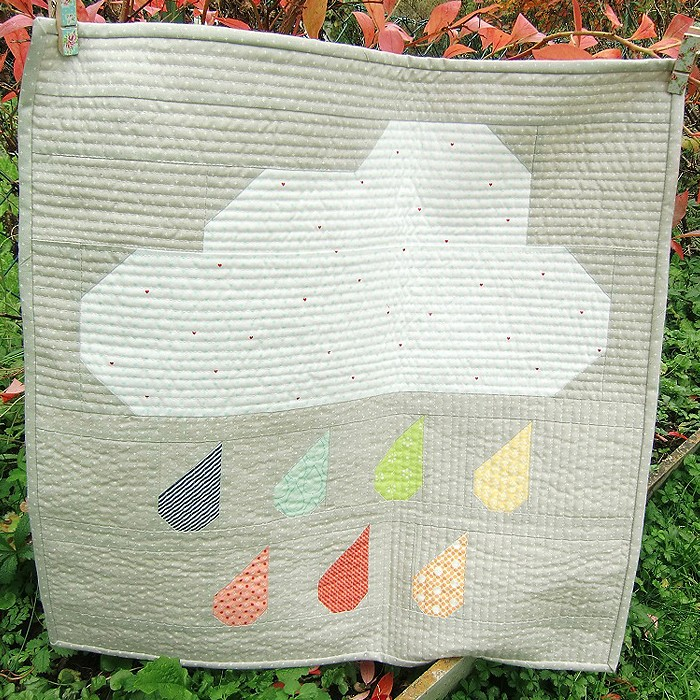 Rainy Days Mini Quilt - Hildy