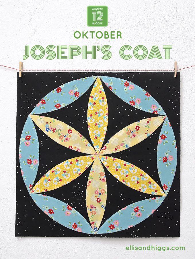 6 Köpfe 12 Blöcke Oktober Block: Joseph's Coat