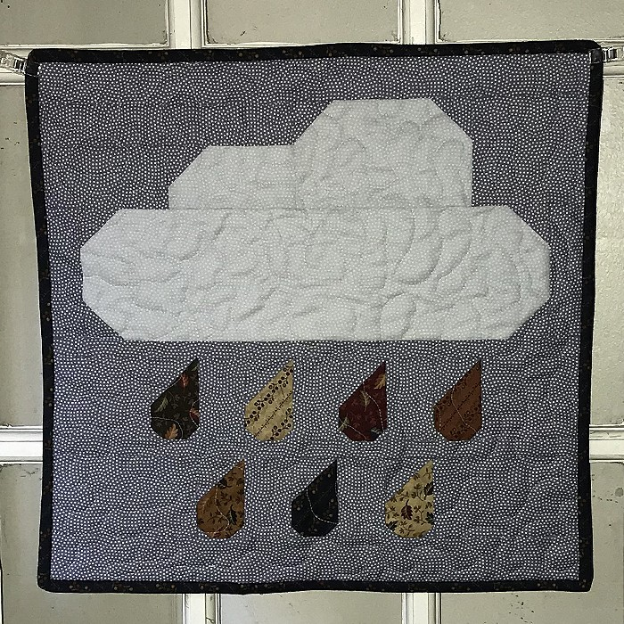 Rainy Days Mini Quilt - Kim