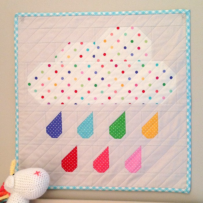 Rainy Days Mini Quilt - Lisa