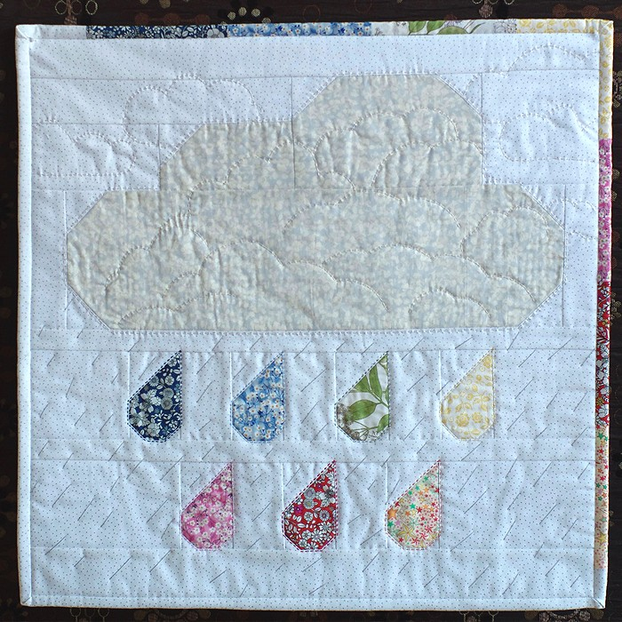 Rainy Days Mini Quilt - Sarai