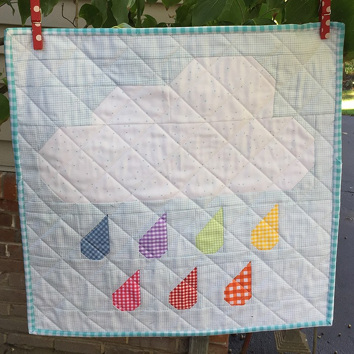Rainy Days Mini Quilt - Sharon