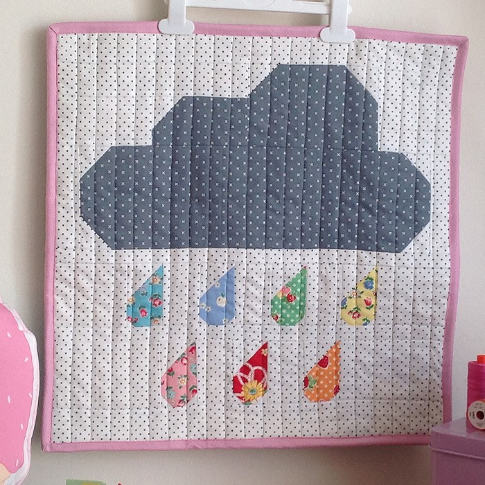 Rainy Days Mini Quilt - Zehrina