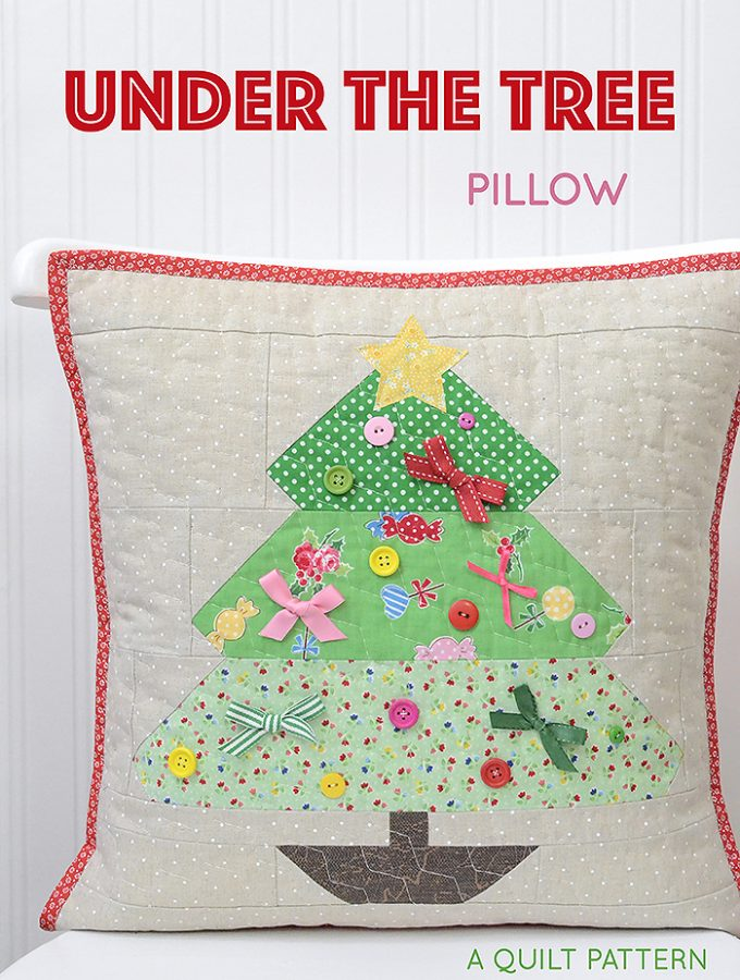 New Quilt Pattern / Neue Patchwork Anleitung: Quilted Pillow