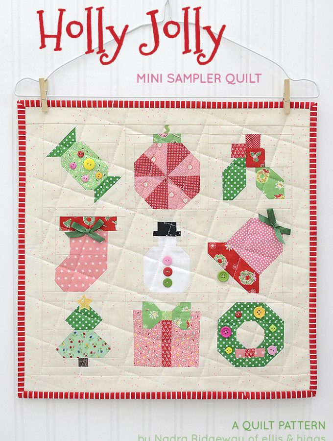 New Quilt Pattern / Neue Patchwork Anleitung: Mini Christmas Sampler
