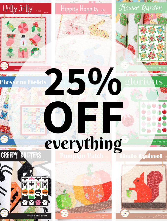 Black Friday Sale – Save 25% On All Patterns
