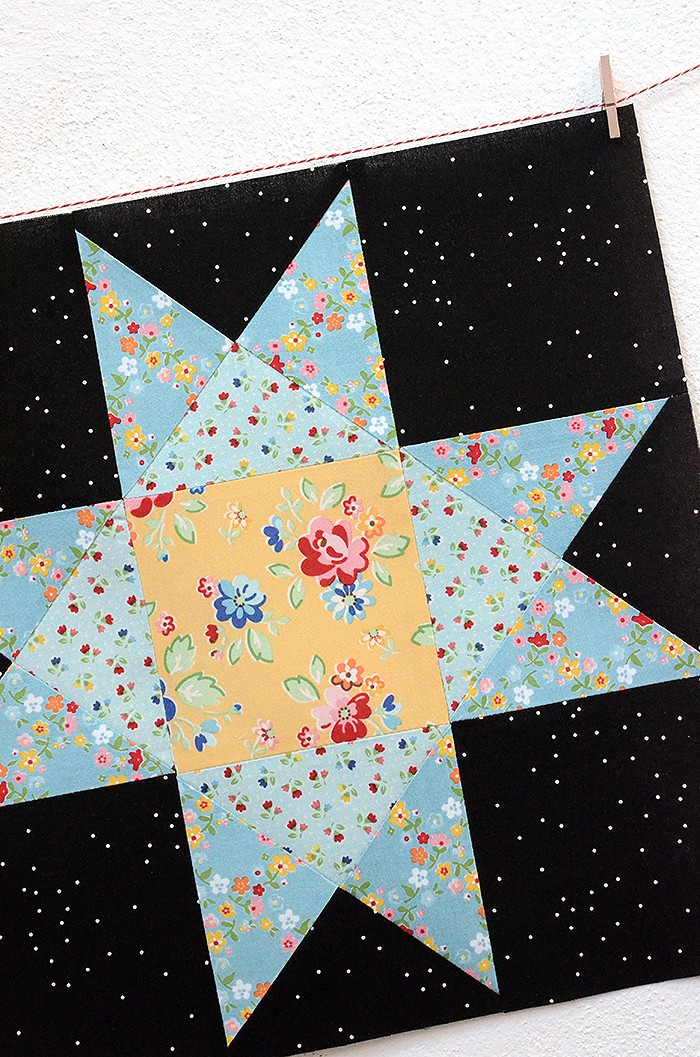 6 Koepfe 12 Bloecke Dezember Block Ohio Star von Nadra Ridgeway von ellis & higgs