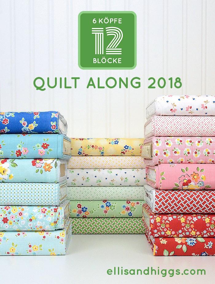 6 Köpfe 12 Blöcke Quilt-Along