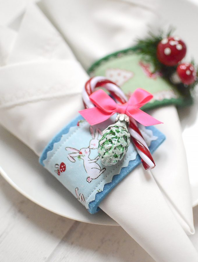 DIY Serviettenringe - Bernina Blog Adventskalender