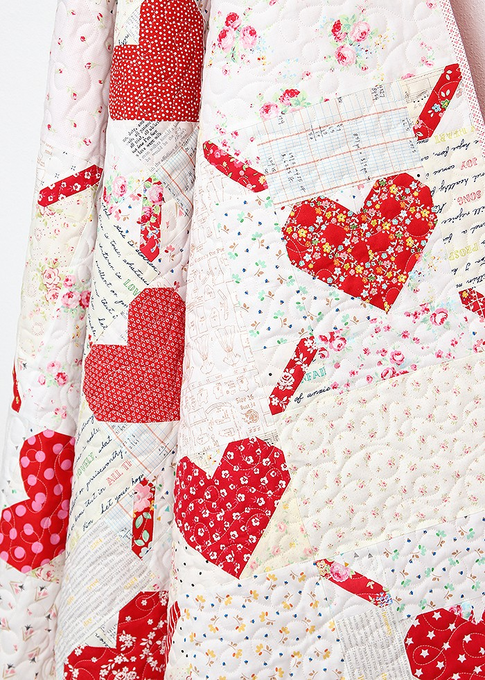 Love Is All Around - Valentine's Day Quilt Pattern by Nadra Ridgeway of ellis & higgs