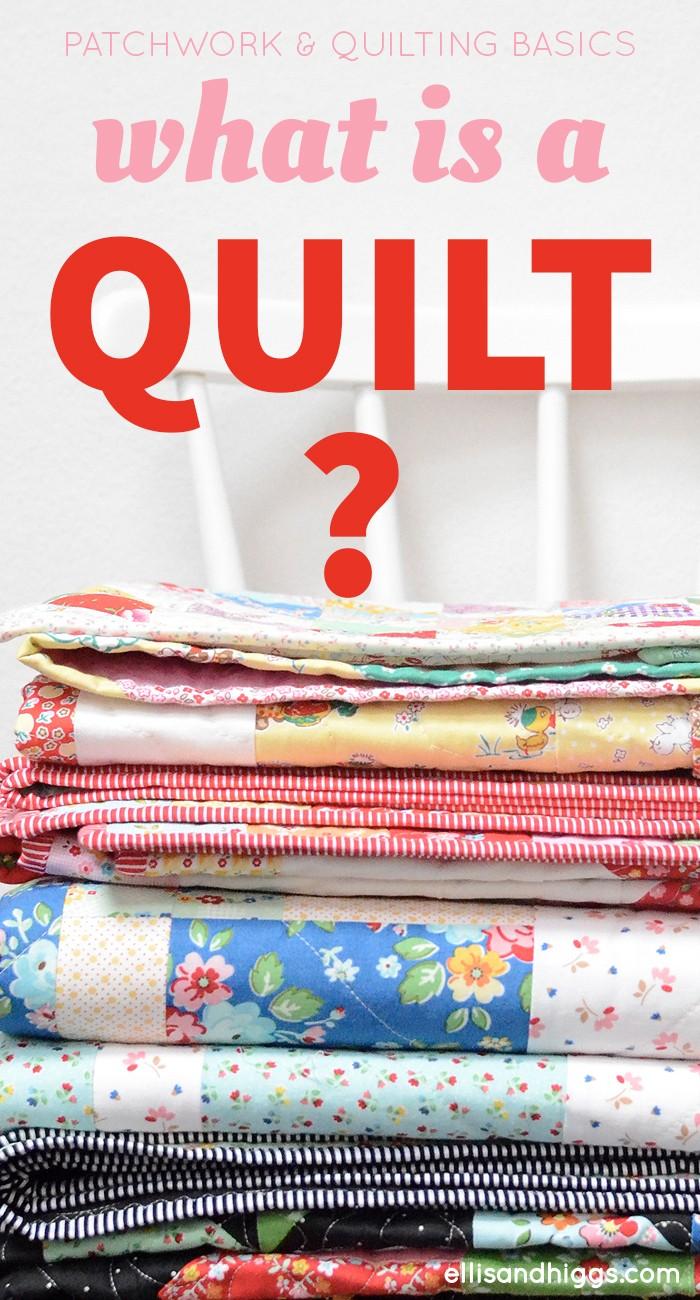 Was ist ein Quilt: eine Definition, What is a quilt: a definition