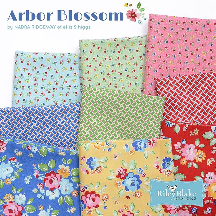 Arbor Blossom Patchworkstoffe. Von Nadra Ridgeway, ellis & higgs für Riley Blake Designs