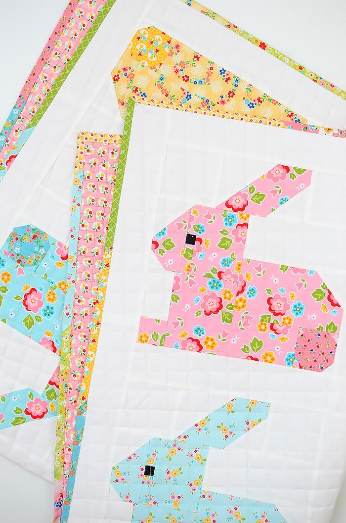 Hippity Hoppity Easter Bunny Quilt Pattern by Nadra Ridgeway of ellis & higgs