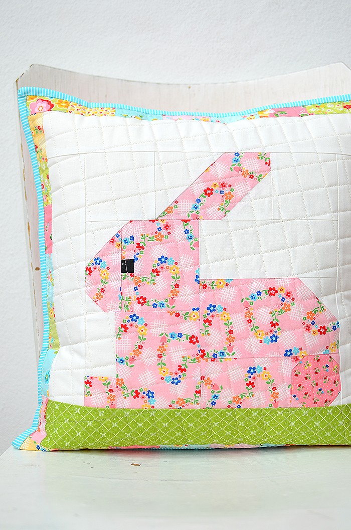 Easter Bunny Pillow Tutorial, Nadra Ridgeway, ellis & higgs