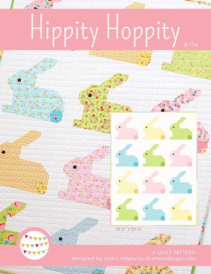 Hippity Hoppity Easter Bunny Quilt, Nadra Ridgeway, ellis & higgs
