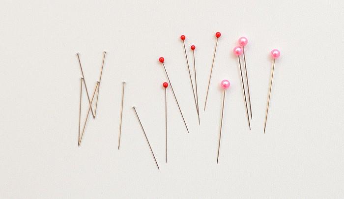 Stecknadeln, Sewing Pins. Patchwork & Quilting Basics - Patchwork-Zubehör