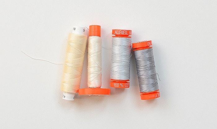 Nähgarn, Thread, Aurifil. Patchwork & Quilting Basics - Patchwork-Zubehör