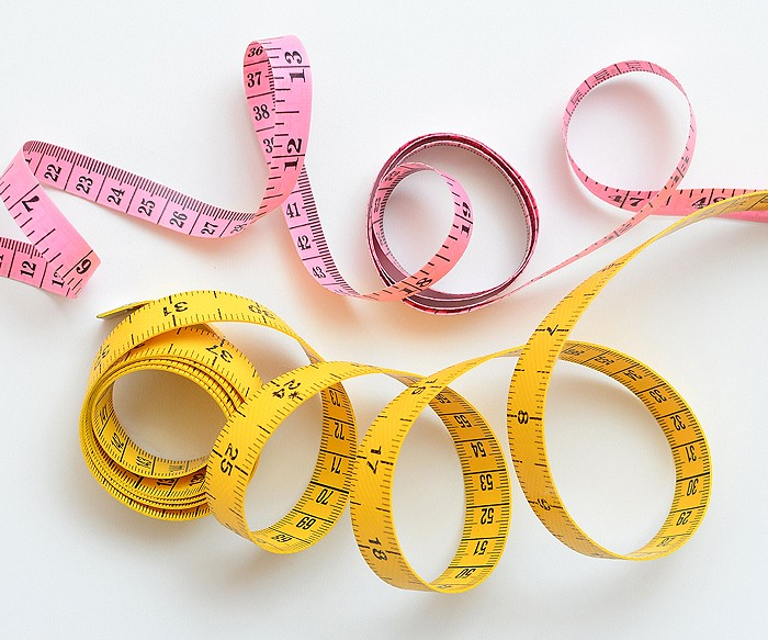 Maßband, Measuring Tape, Inch, cm. Patchwork & Quilting Basics - Patchwork-Zubehör