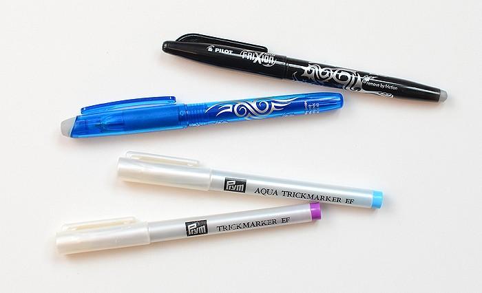 Markierstifte, Fabric Markin Pens. Patchwork & Quilting Basics - Patchwork-Zubehör