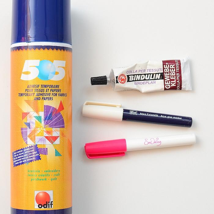 Stoffkleber, Gewebekleber, Sprühkleber, Fabric Glue, Temporary Pray Adhesive. Patchwork & Quilting Basics - Patchwork-Zubehör