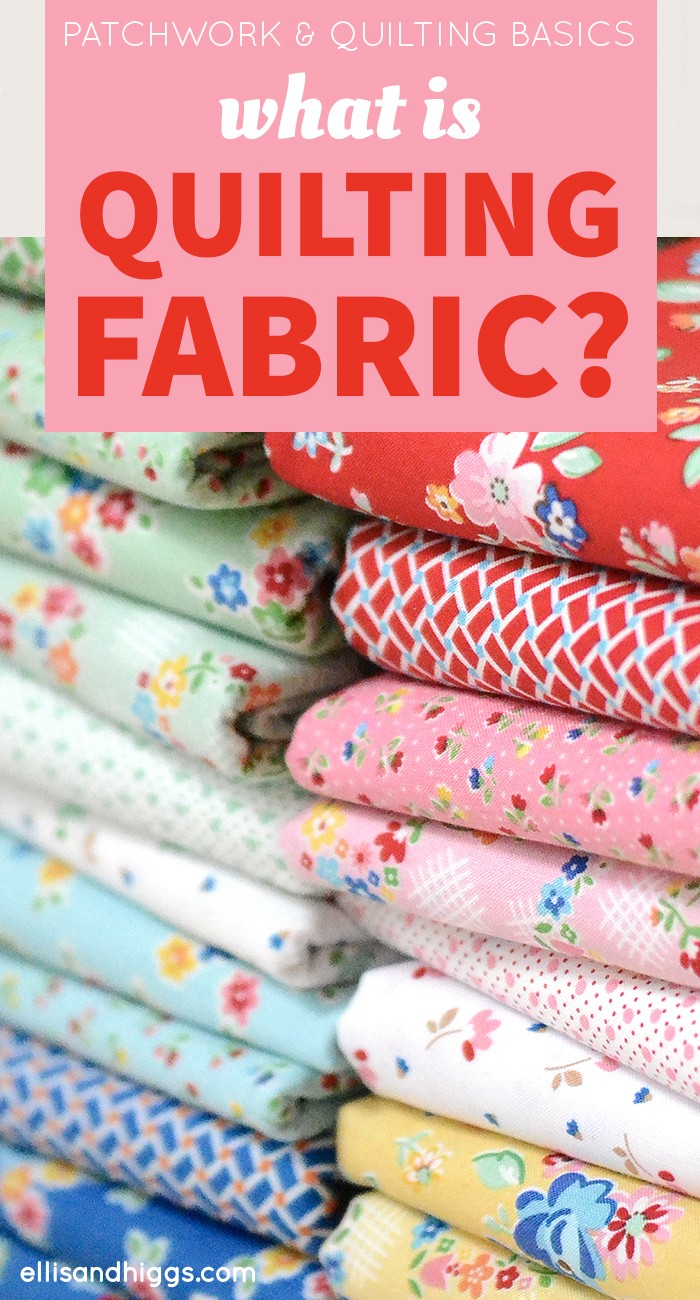 Was sind Patchworkstoffe? What is Quilting Fabric?