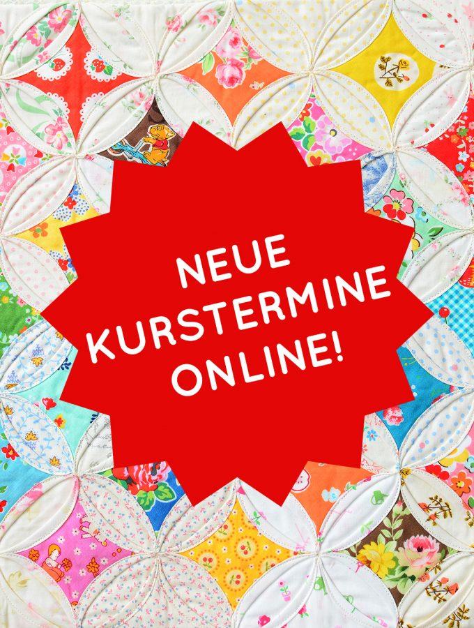 Cathedral Window Kissen - Neue Kurstermine online